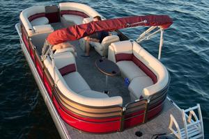 New Misty Harbor 2285 Biscayne Bay CU Pontoon Boat For Sale