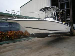 Used Century 2300 Center Console Saltwater Fishing Boat For Sale