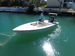 Used Maverick Master Angler 17 Flats Fishing Boat For Sale