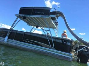 Used Premier Pontoons Solaris Triton 250 PTX Pontoon Boat For Sale