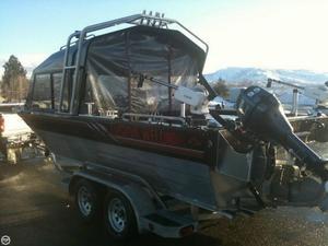 Used Custom Weld Storm 22 Jet Boat For Sale