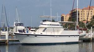 Used Gulfstar 38 Sun Deck Motor Cruiser / Trawler Motor Yacht For Sale