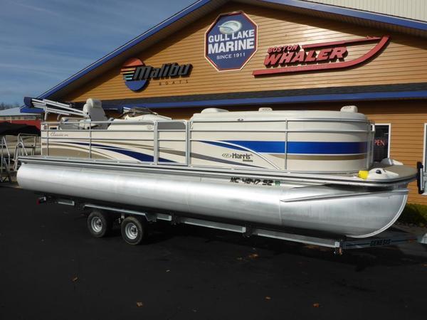 Used Harris Classic 240 I/O Pontoon Boat For Sale