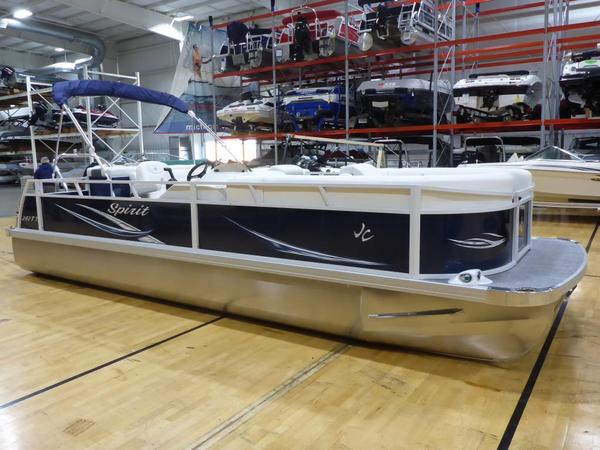 New Jc 242 Spirit TT Sport Pontoon Boat For Sale