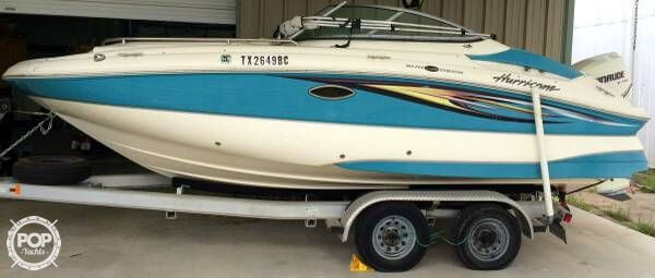 Used Hurricane 2000 Sport Deck Boat For Sale