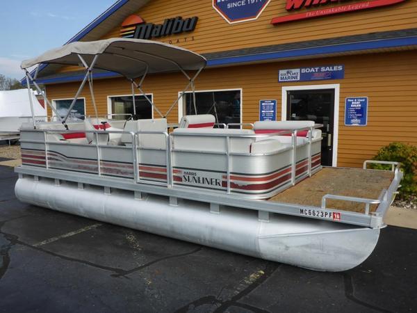 Used Harris Sunliner 200 Pontoon Boat For Sale