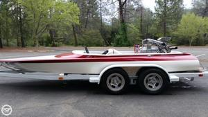 Used Sanger Bubble Deck Flat Bottom 19 High Performance Boat For Sale