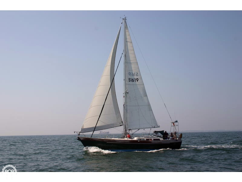 Used Hans Christian Yachts Christina 43 Cutter Sailboat For Sale