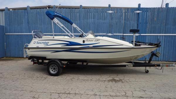 Used Lowe Tahiti 192 Freshwater Fishing Boat For Sale