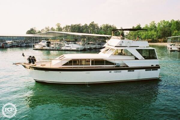 Used Trojan 50 Motor Yacht Cruiser Boat For Sale