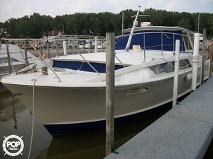 Used Chris-Craft Commander Sedan 38 Cruiser Boat For Sale
