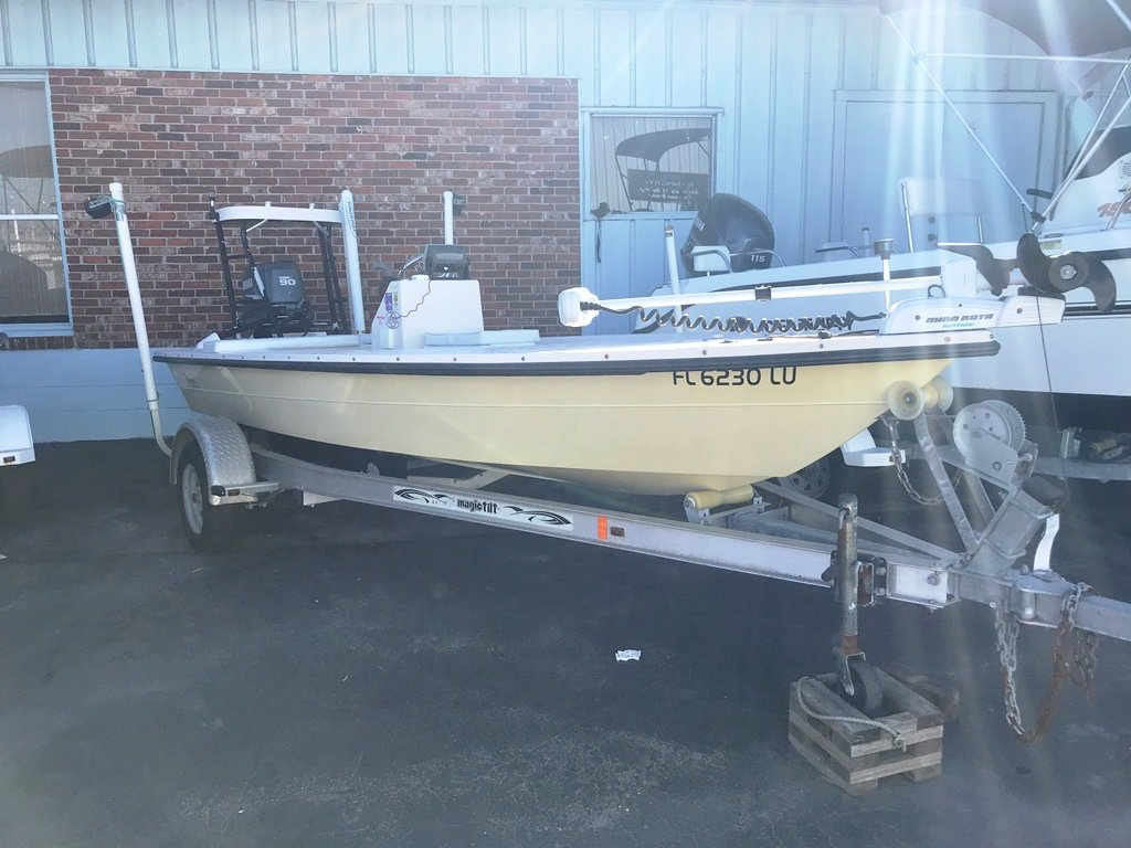 2002 used maverick flats fishing boat for sale 16 400 for Flats fishing boats