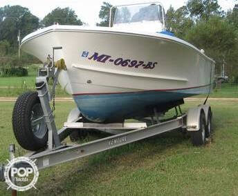 Used Shamrock 20 CC Fisherman Center Console Fishing Boat For Sale