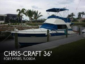Used Chris Craft Commander Sports Cruiser Boat For Sale