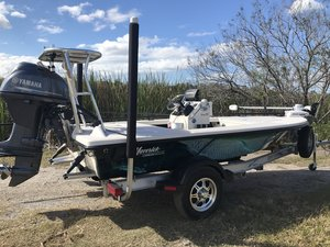 Used Maverick Mirage HPX Series 15 HPX-V Flats Fishing Boat For Sale