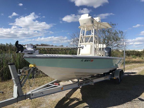 Used Pathfinder Bay Boat 2300 HPS Bay Boat For Sale