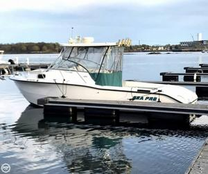 Used Sea Pro 255WA Walkaround Fishing Boat For Sale