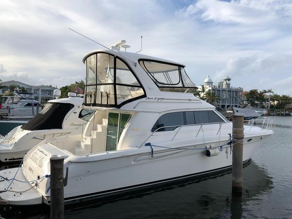 Used Sea Ray Sedan Bridge Flybridge Boat For Sale