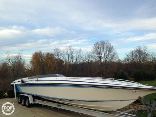 Used Fountain 40 Lightning High Performance Boat For Sale