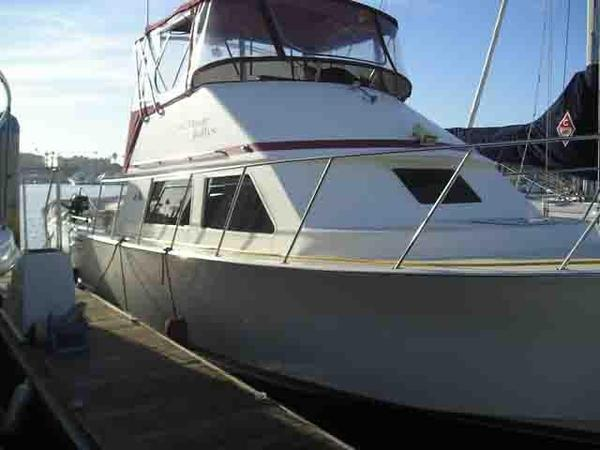 Used Blackman 38 Sports Fishing Boat For Sale