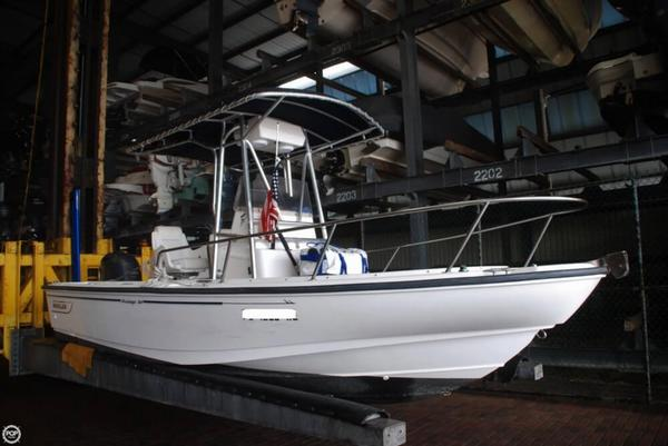 Used Boston Whaler 20 Outrage Center Console Fishing Boat For Sale
