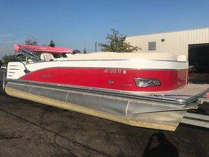 Used Avalon Catalina 22' Pontoon Boat For Sale