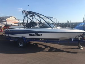 Used Malibu Boats Llc RESPONSE LXI Ski and Wakeboard Boat For Sale