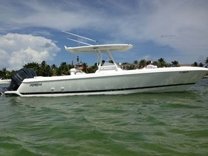 Used Intrepid 327 Open Center Console Fishing Boat For Sale