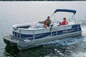 New Jc 222 Spirit TT Sport Pontoon Boat For Sale