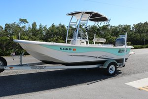 Used Carolina Skiff DLV Series 198 Freshwater Fishing Boat For Sale
