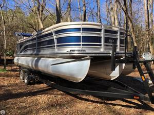 Used Harris Flotebote Solstice 240 Pontoon Boat For Sale