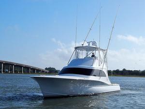 Used Heritage Yacht Custom Carolina Sportfish Sports Fishing Boat For Sale