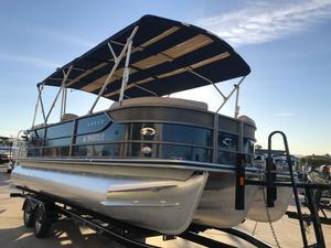 Used Crest II Pontoon Boat For Sale