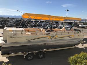 Used Bennington 2575 RFS Tri Toon Pontoon Boat For Sale