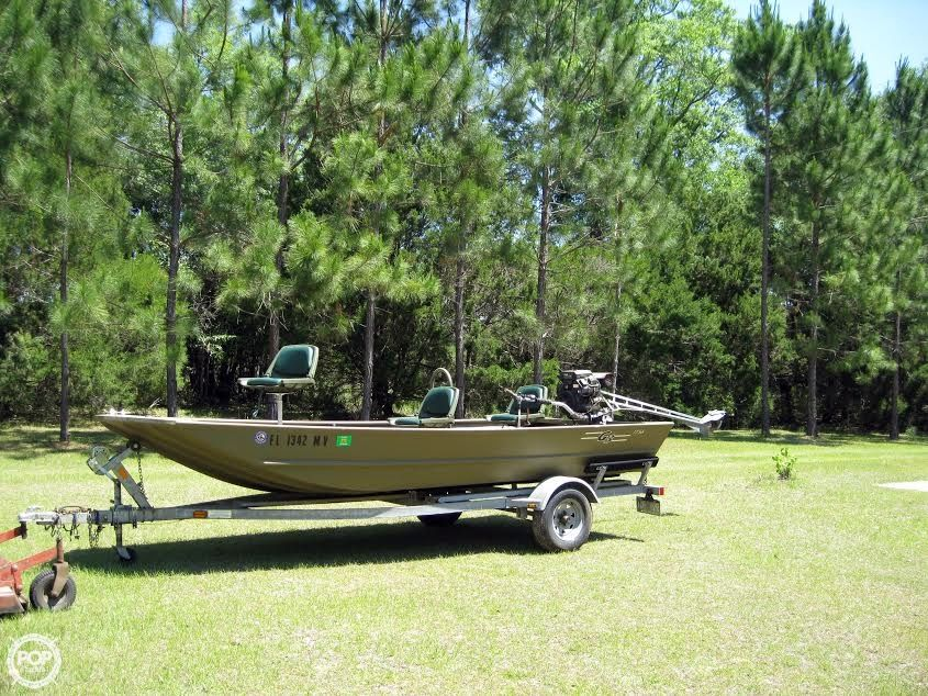 2005 used g3 1756 wof aluminum fishing boat for sale