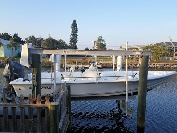 Used Sea Pro Sv2100cc Bay Boat Center Console Fishing Boat For Sale