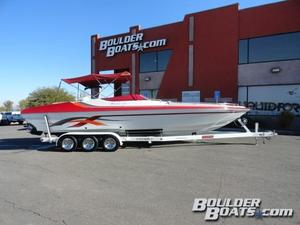 Used Hallett 290-S Open Bow High Performance Boat For Sale