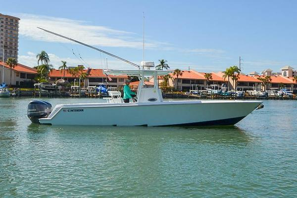 Used Contender 32 ST Center Console Fishing Boat For Sale