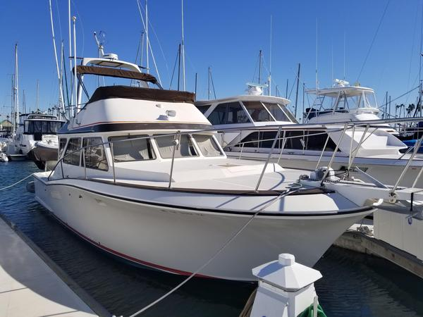 Used Pacifica Saltwater Fishing Boat For Sale