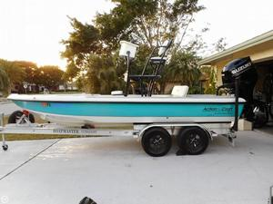 Used Action Craft 19 Ace Flatsmaster Flats Fishing Boat For Sale