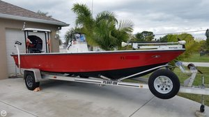 Used Hewes 20 Light Tackle Flats Fishing Boat For Sale