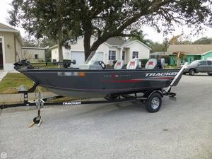 Used Tracker V 16 Pro Guide Aluminum Fishing Boat For Sale
