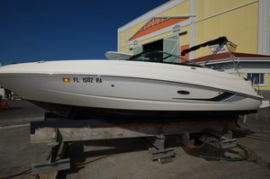 Used Sea Ray 240 Sundeck Outboard Bowrider Boat For Sale