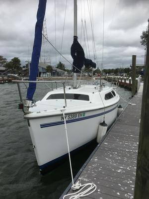 Used Catalina 250K Cruiser Sailboat For Sale