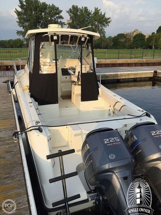 Used Hydra-Sports 2800 WA Walkaround Fishing Boat For Sale