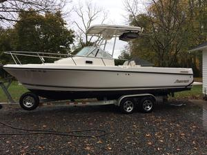 Used Shamrock 246 Walkaround Sports Fishing Boat For Sale