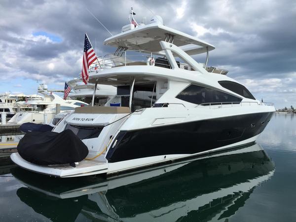 Used Sunseeker Manhattan Flybridge Boat For Sale
