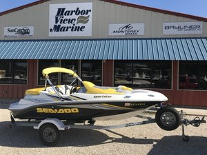 Used Sea-Doo Sport Boats sportster 215 Ski and Wakeboard Boat For Sale