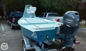 Used Custom 15- Home made Flats Fishing Boat For Sale