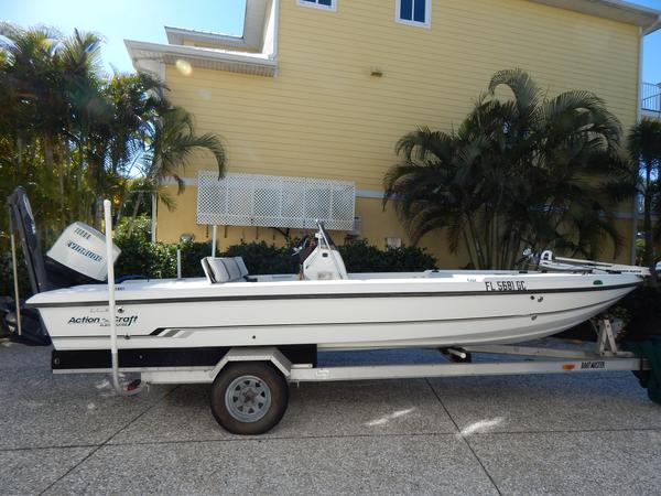 Used Action Craft Flatsmaster 2020 Saltwater Fishing Boat For Sale